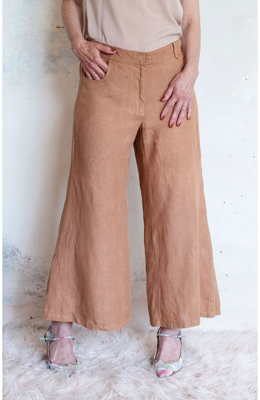 TRAVEL PANT SWEET BISCUIT